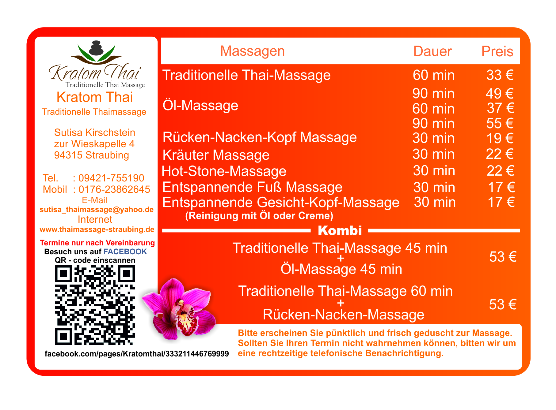 Thai massage straubing
